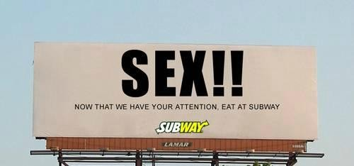 Секс в рекламе - исследования